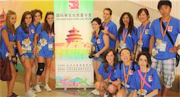 Il gruppo di studenti di ritorno dalla Cina