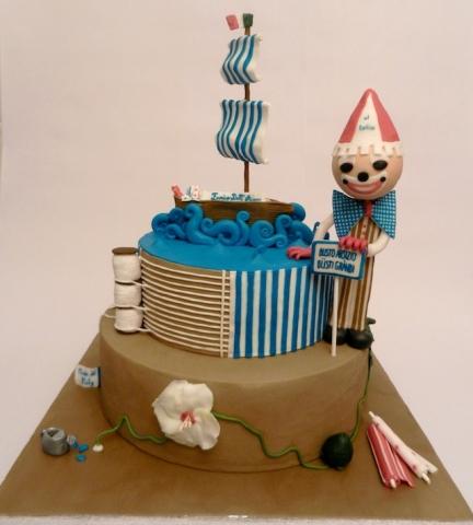 Cake Design Busto Arsizio : Una finalissima a Milano per la torta dedicata a