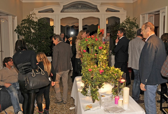 il party a Villa Frua