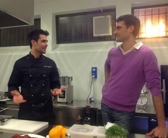Roberto valbuzzi con coach benessere
