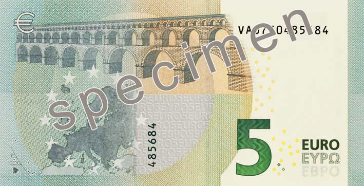 Draghi firma le nuove banconote da 5 euro varesenews - Liseuse moins de 50 euros ...