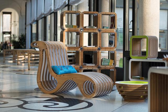 importante il concetto di riuso – spiega Caporaso -. I miei mobili ...