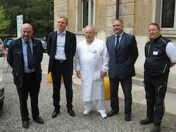 Da sinistra: callisto Bravi, Alberto Zoli, Piefrancesco Perlasca, Mario Landriscina, Guido Garzena