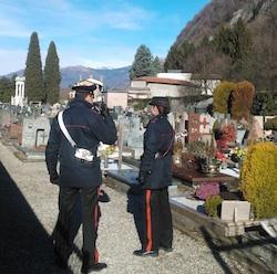 carabinieri cimitero