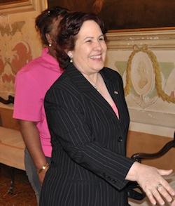 L'ambasciatore di Cuba in Italia Milagros Carina Soto Aguero