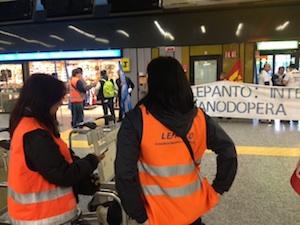 protesta malpensa apertura