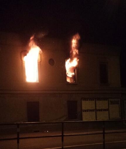 incendio ippodromo apertura varese