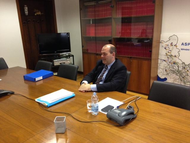 L'amministratore delegato Ciro Calemme