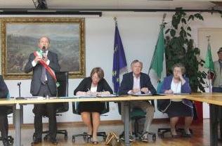 consiglio comunale cantello: il sindaco Gunnar Vincenzi