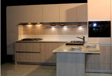 Una bella cucina moderna