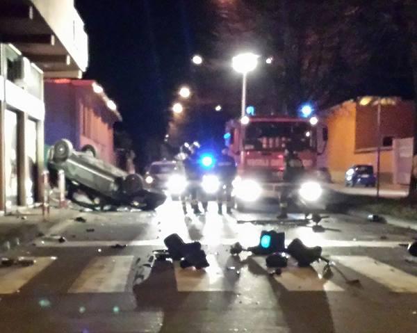 incidente stradale busto arsizio semaforo