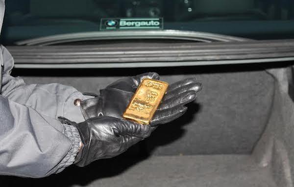 guardia finanza oro