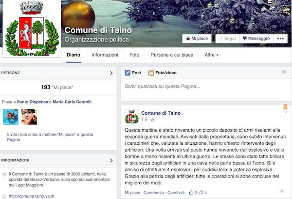 taino facebook