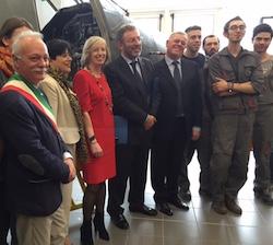 """Il Ministro Giannini: """"Questa scuola è un'eccellenza italiana"""""""