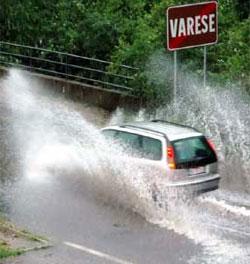 pioggia a varese (foto di repertorio)