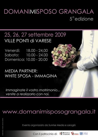 35ef808f8fce Sogni un matrimonio da favola  A Varese tre giorni dedicati alla sposa
