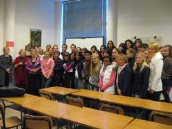 Studenti finlandesi in visita al Casula