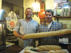 Fulvio e Enrico della paninoteca Golden Egg di Varese