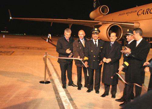 La presentazione di Saudi Arabian Cargo a Malpensa
