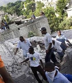 cecilia corneo, dispersa terremoto haiti