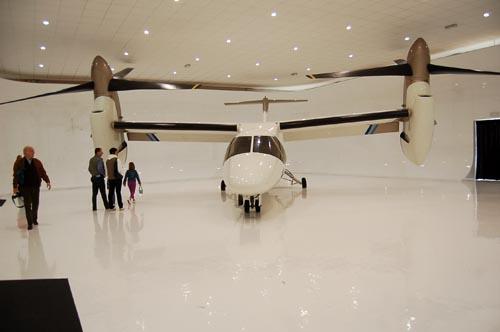 Inaugurato il museo del volo di Volandia Malpensa a Vizzola Ticino convertiplano