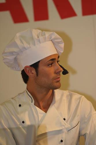 Roberto Valbuzzi, chef del crotto valtellina