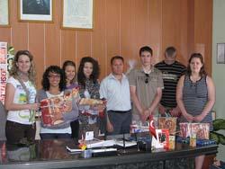 scambio di doni tra gli studenti di Gavirate, polacchi e ucraini