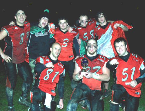 football americano skorpions under 21 2010
