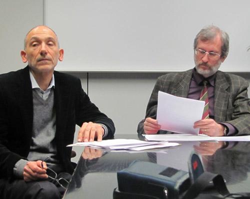 Giuseppe Campilongo e Luciano Porro