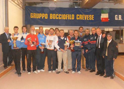 finalisti campionati provinciali bocce creva gennaio 2011