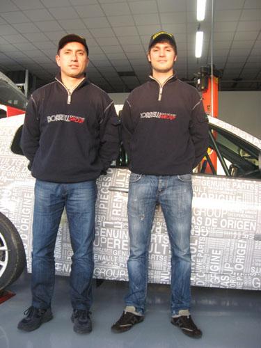 rally team borrelli andrea crugnola giuseppe freguglia