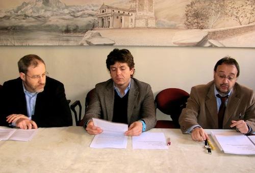 Nicola Milana, Emiliano Cacioppo, Roberto Molinari