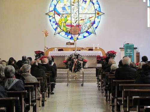 Funerale Paride Brunetti