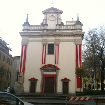 La chiesa di sant'antonio alla motta