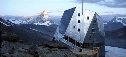 Il rifugio sul Monte Rosa sostenibile
