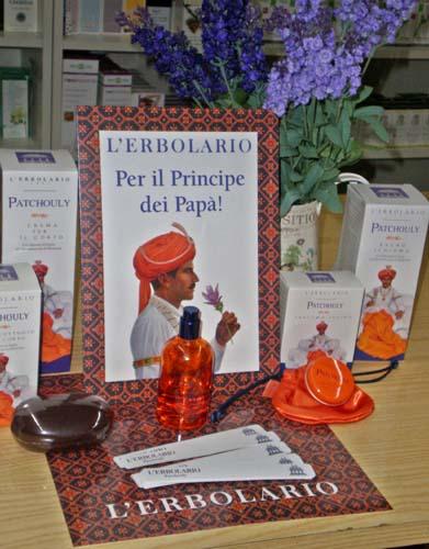 L'Erboristeria Il Biancospino, a Morazzone (Varese)
