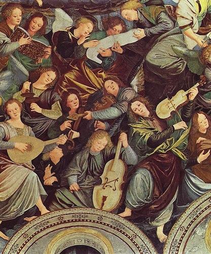 Concerto degli angeli musicanti, al Santuario di Saronno