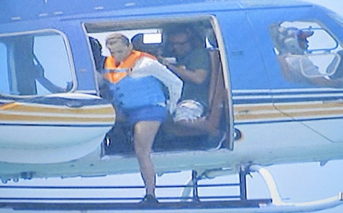 Simona Ventura, dal gran salto dall'elicottero al gran salto a sky