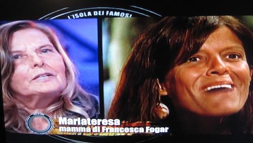 Francesca Fogar e la mamma