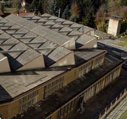 Il tetto è stato tutto bonificato dall'amianto