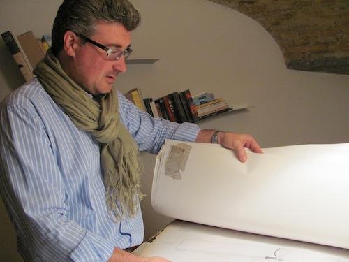 franco crugnola architetto varesino con laurea nel 1993 sul libro elettronico