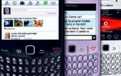 Sito di incontri su BlackBerry