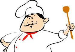 Scuola di cucina all'istituto De Filippi
