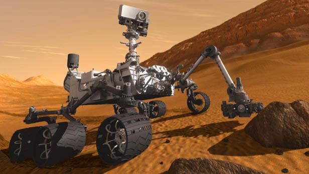 curiosity nasa robot marte