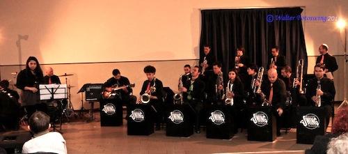 La coloured swing band