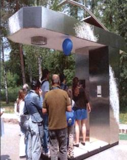 una casa dell'acqua
