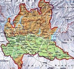 Province Lombardia Cartina.Provincie Lombarde Per La Regione Vanno Bene Cosi