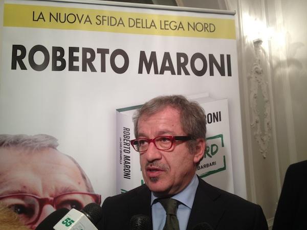 """Maroni: """"Vinceremo in Lombardia"""""""