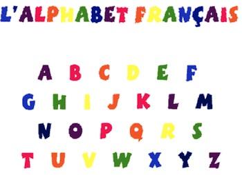 francese alfabeto
