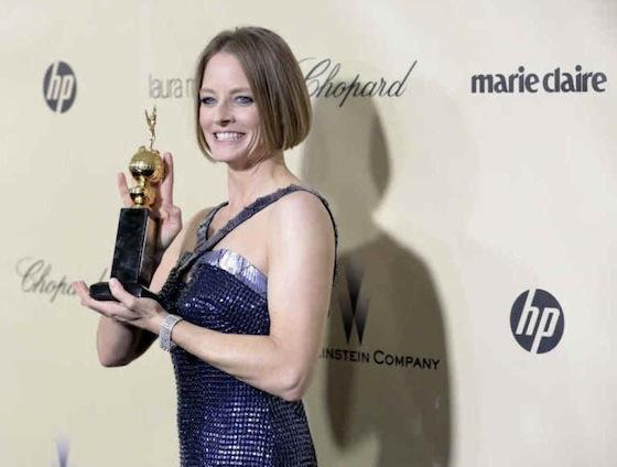 Jodie Foster ai Golden Globe
